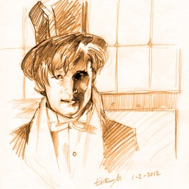 matt_smith_fast_portrait_by_okinuchan-d4obie6
